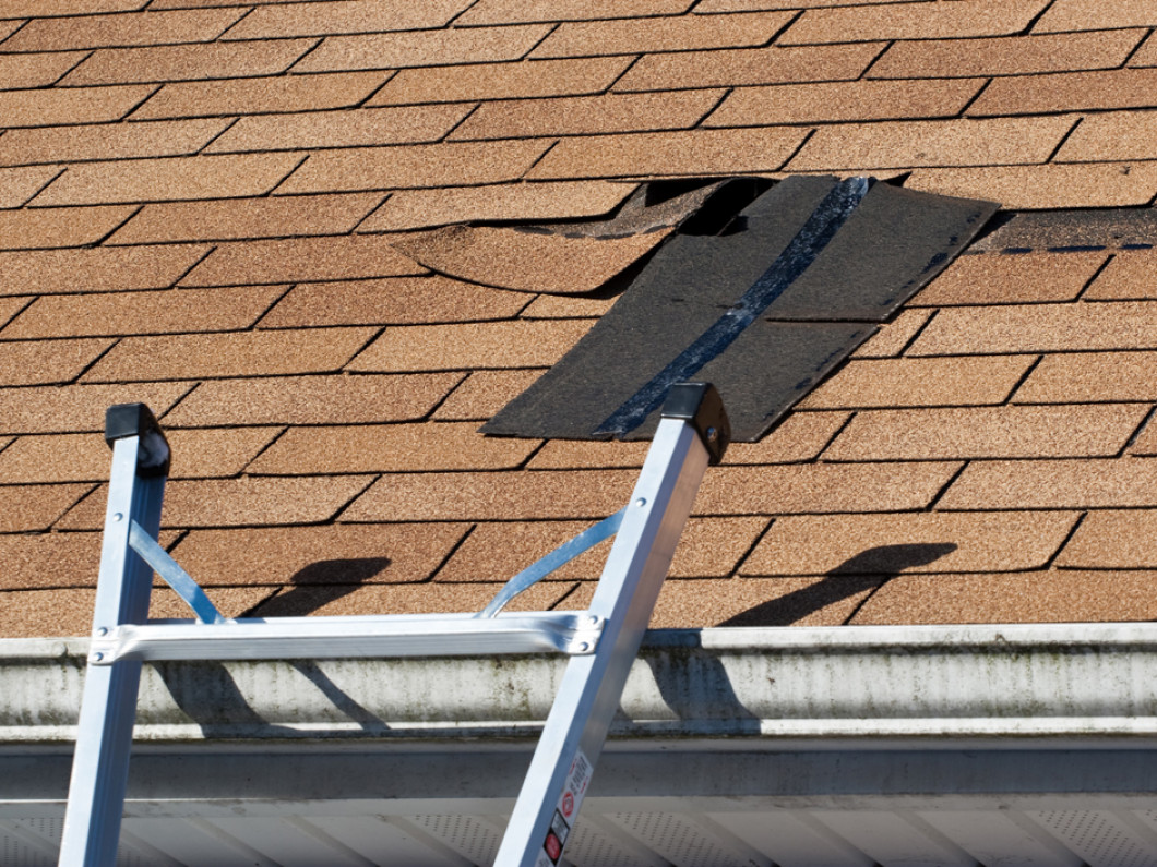 Take Care of Roof Damage Before It Gets Worse